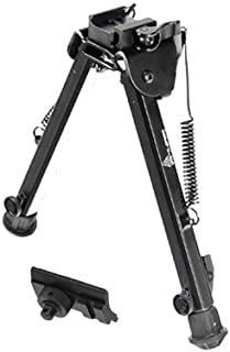 "UTG Super Duty Bi-pod with QD Lever Mount, Height 8.0""-12.8"""