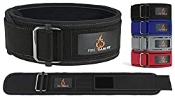 Fire Team Fit 4 Inch Weight Lifting Belt for Men and Women