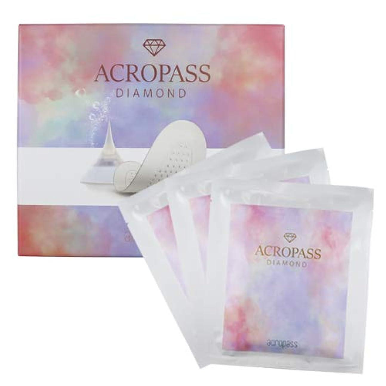 テスピアンホット分割acropass アクロパス ダイアモンド (ACROPASS DIAMOND) 6パッチ(3パウチ)入り