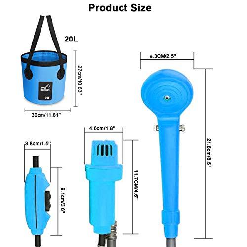 AUTOPkio Portable Outdoor Shower