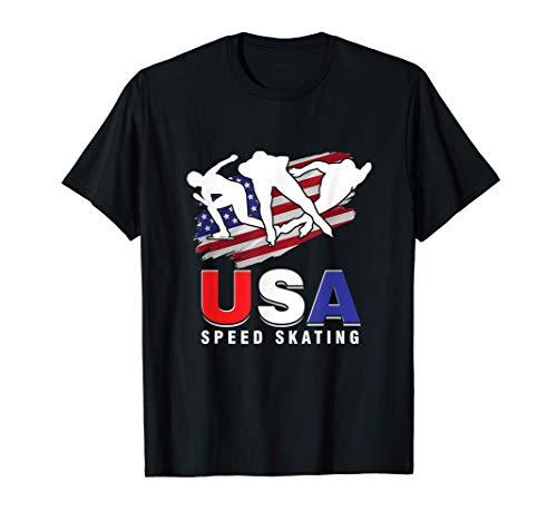 Schlittschuh Schlittschuhlaufen Eislaufen Eissport Geschenk T-Shirt
