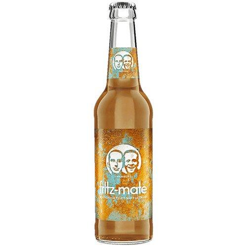 12 Flaschen a 0,33l Fritz Mate Koffeinhaltiges rauchiges Teegetränk 0,96€ MEHRWEG Pfand