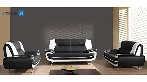Mos 00022 Onyx Set 3-2-1 Sofa Couch in Kunstleder
