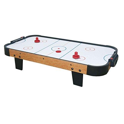 Deanyi Mini Air Hockey 60 / 76 / 96 mm, 2 Schieber, 4 Pucks Filz-Set für Spieltische und Babyspiele, Sport-Spielzeug