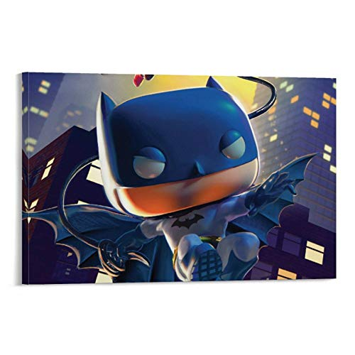SSKJTC Home Decor Artwork Batman Poster Funkoverse Canvas Wall Art Posters 20x30inch(50x75cm)