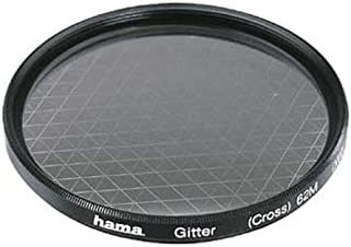 Hama Effect Filter, Cross Screen, 6 x, 49.0 mm - Filtro para cámara (Cross Screen, 6 x, 49.0 mm, Negro)