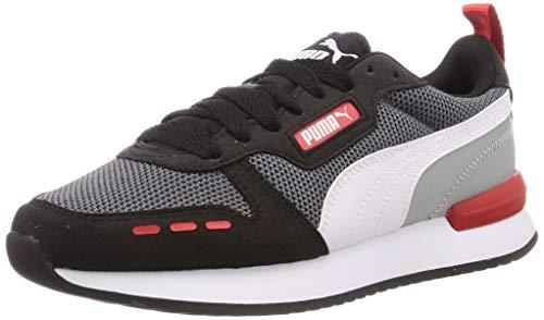 PUMA Unisex-Erwachsene R78 Sneaker, Grau (Castlerock Black White), 43 EU