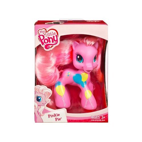 My Little Pony Ponyville Cutie Mark Design Pinkie Pie Pony Figure by Hasbro
