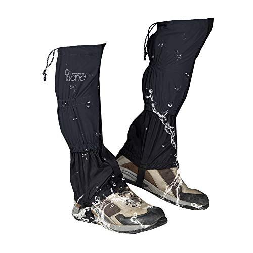 IDAND Leg Gaiters for Hiking Waterproof Snow Boot Gaiters
