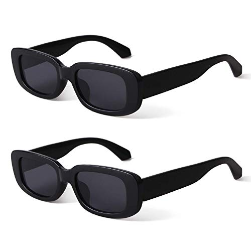BUTABY Rectangle Sunglasses for Wom…