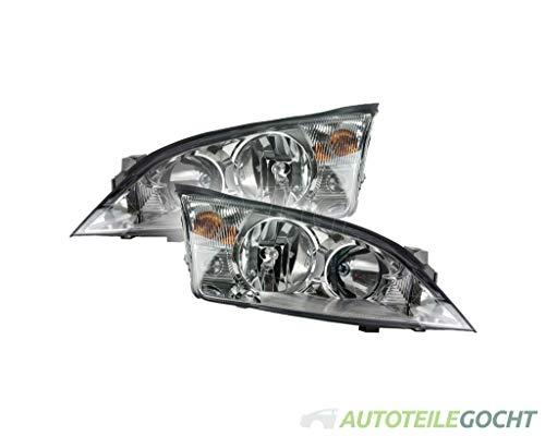 Set Magneti Marelli Scheinwerfer H1/H7 m. Motor für FORD MONDEO III B5Y 00-07 1144909, 1435624, 1S71-13006-SB von Autoteile Gocht