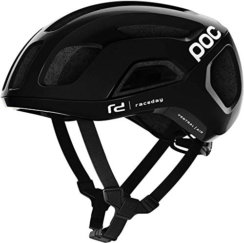 POC Ventral Air Spin Casco da Ciclismo, Unisex-Adult, Uranium Black Raceday/Nero, Medium