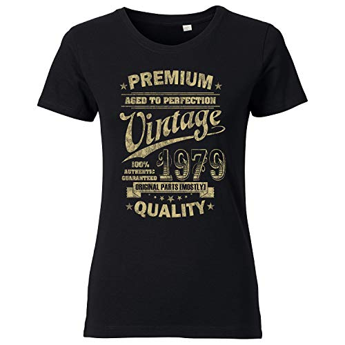 OutlawTex - Aged to Perfection 1979 voor de 40e verjaardag - dames T-shirt