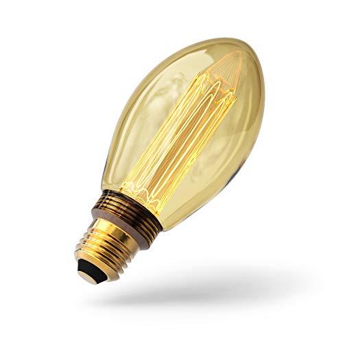 Sylvania Dekorative LED Lampe Mirage - Retro Glühbirne im Edison-Stil (2,5 Watt, 105 lm, E27)