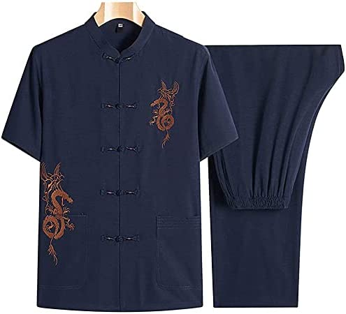 ZHANGWW Traditional Tang Kung Fu Clothing Ma Milwaukee Mall Uniform Men Challenge the lowest price of Japan