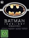 Batman 1-4 - Remastered [Alemania] [Blu-ray]