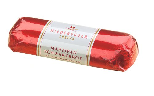 Photo of Niederegger Pure Marzipan Loaf Covered in Dark Chocolate 200 g