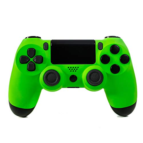 DualShock 4 Customized Wireless Controller for Playstation 4 - Soft Touch Neon Green PS4 - Added Grip for Long Gaming Sessions - Multiple Colors Available