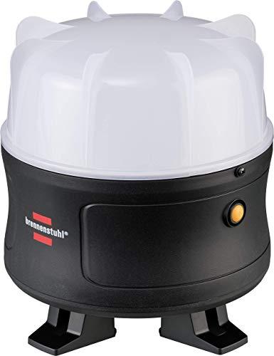 Brennenstuhl Mobiler 360° LED Akku Strahler / LED Baustrahler 30W (Arbeitsleuchte 3000lm, mit Li-lon Akku, max. Leuchtdauer 12h, LED Bauscheinwerfer für außen, IP54)