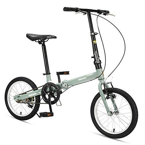 Sports de plein air banlieue ville vélo de route vélo de montagne 16 'vélos pliants en acier à...