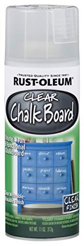 Rust-Oleum Series Rustoleum 302487 11OZ Clear Chalkboard Spray, 11 oz