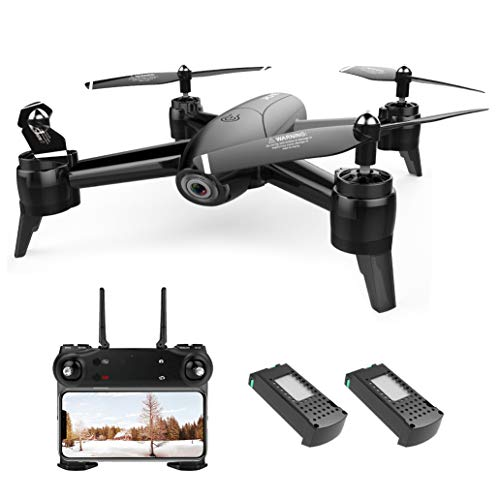 Drone with Camera 1080P FPV RC Quadcopters Drones with Camera for Adults 2.4GHz Remote/Phone/APP Controlled HD Camera Video Gesture Control Trajectory Flight Quadcopter for Kids Adults Beginners
