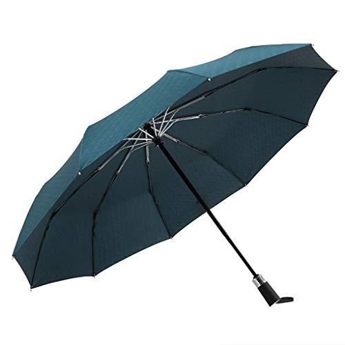 Automatische 10K Mann-Regenschirm Drei beweglicher Sonnenschutz Sonnenschirm im Freien Regenschirm Reise windundurchlässiges Falten voll