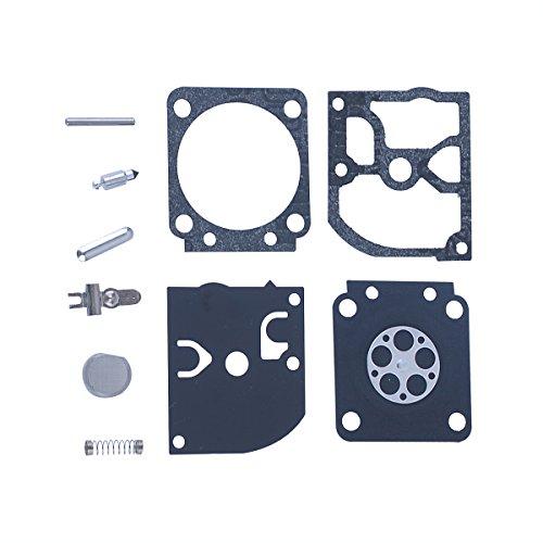 Hipa Carburetor Rebuild Kit RB-129 Assembly for Poulan Pro PP3516 PP3516AVX PP3816 PP3816AV PP4018 PP4218 PP4218AV PP4218AVHD PP4218AVL PP4218AVX PPB3416 PPB4018 PPB4218 SM4218AV Gas Saw