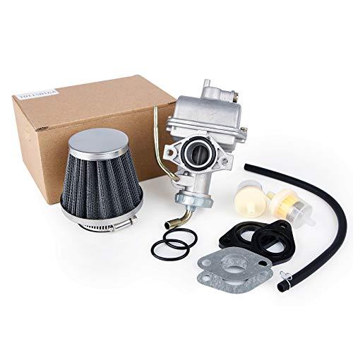 CarBole PZ20 Vergaser mit Luftfilter für Kazuma Baja 4-Takt ATV 4 Wheeler Go Kart Schmutzfahrrad Ersatz für Honda CRF50F XL75 CRF80F XR50R