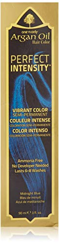 One 'n Only Perfect Intensity Midnight Blue Semi Permanent Hair Color Midnight Blue