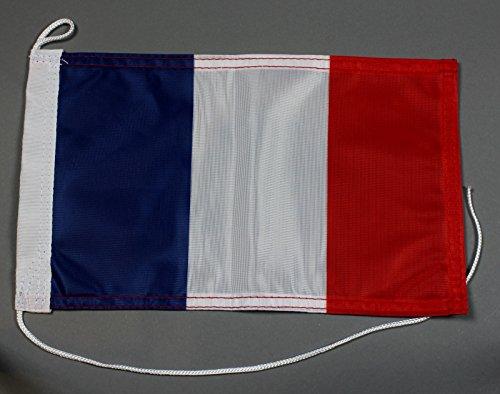 Bootsflagge Frankreich 20 x 30 cm in Profiqualität Flagge Motorradflagge