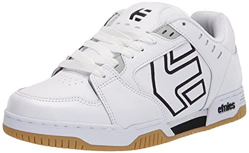 Etnies Men's Faze Puffy Skate Shoe, White/Black/Gum, 12