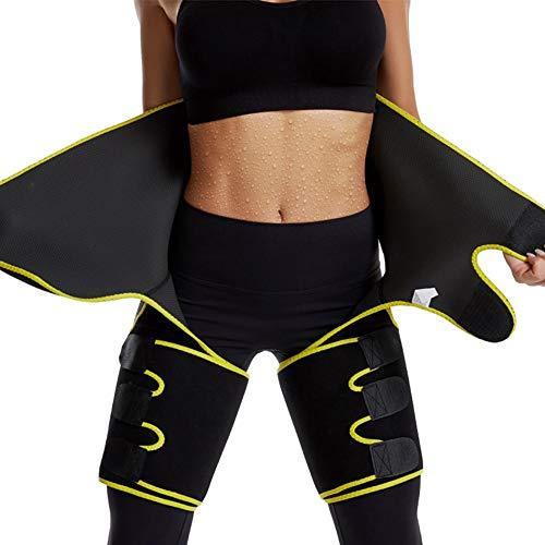 Blentude Bauchweggürtel,Fitnessgürtel,Fitness Gürtel,Schwitzgürtel zur Fettverbrennung, Gewichthebergürtel Schweiß Ab Gürtel Taillen