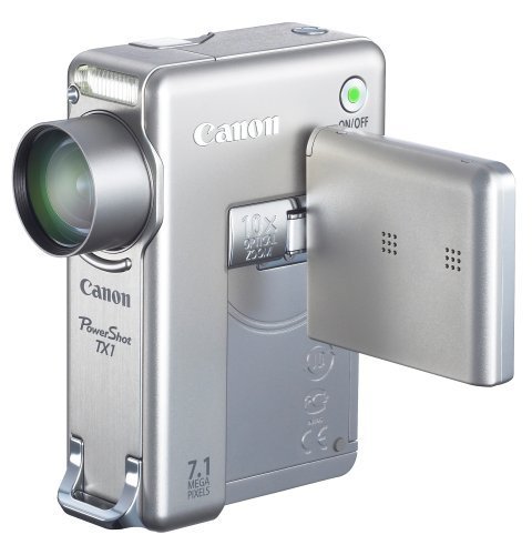 Canon PowerShot TX1 7.1MP Digital Camera with 10x Optical Image Stabilized Zoom