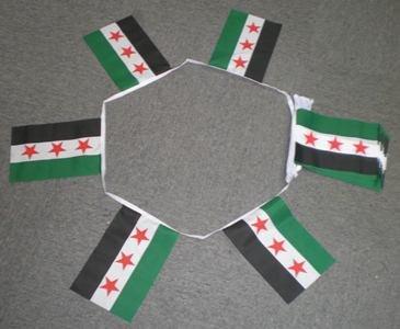 6m 20 vlag Oud Syrië (1932-58) bunting