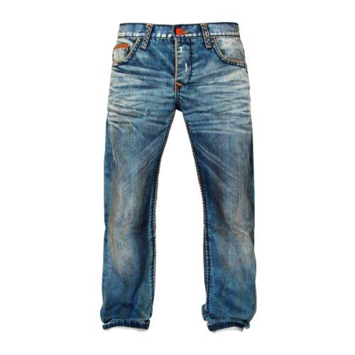 Cipo & Baxx Jeans Rutgar mittelblau W36L34