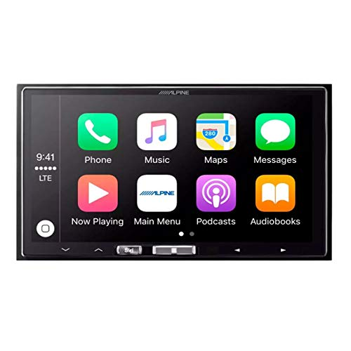 Alpine iLX-107 - 7' Mech-less In-Dash Receiver with Wireless Apple CarPlay