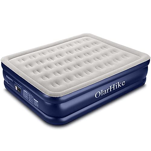OlarHike Queen Size Luftmatratze mit Integrierter...