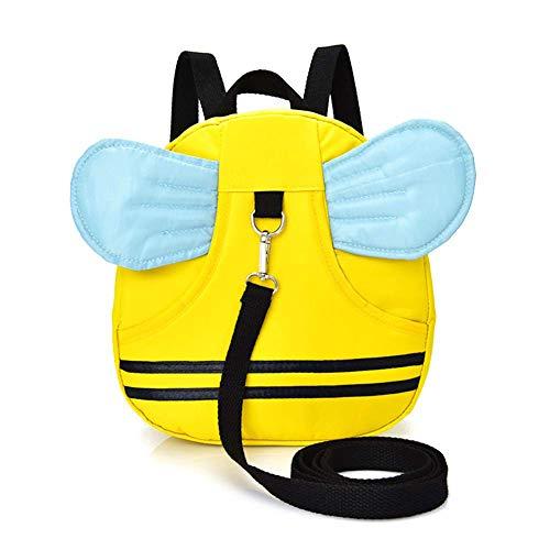 Local Makes A Comeback -Mochila anti-perdida para niños de 1-3 años, mochila escolar para niños pequeños, impermeable, con correa anti-perdida, demonio ocular (amarillo)