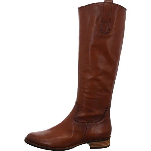 Gabor Shoes Damen Fashion Hohe Stiefel, Braun (Caramello (Effekt) 32), 35.5 EU
