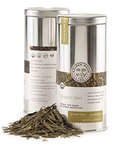 Golden Moon Tea - Dragon Well Tea - Organic -...