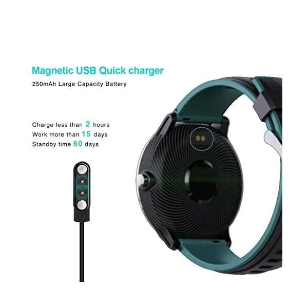 Smartwatch,Reloj Inteligente con Pulsómetro,Calorías,Cronómetros,Monitor de Sueño,Podómetro Pulsera Actividad… 10