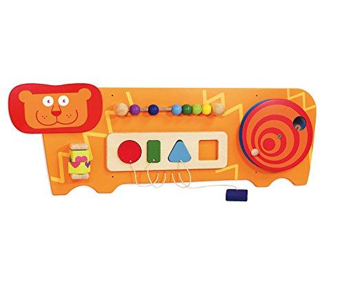 Bartl I'm Toy 100396 Wandspiel Löwe Motorikspiel für Kinderzimmer, Wartezimmer, Kinderkrippe