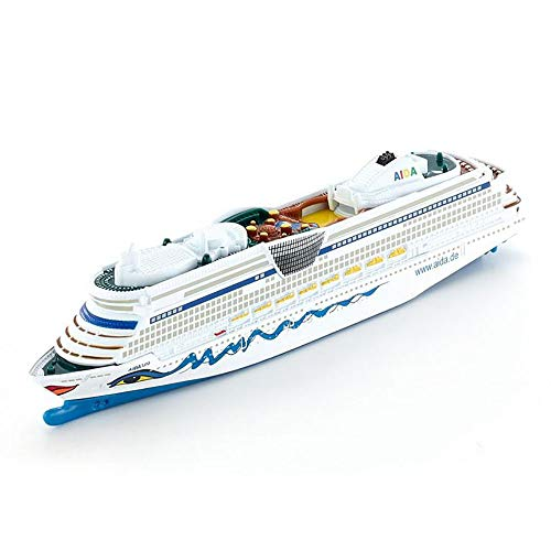 Lllunimon 1/1400 Modelo de Barco Alemán Aida Luna Luxury Cruises Modelo Boat Battleship Collection