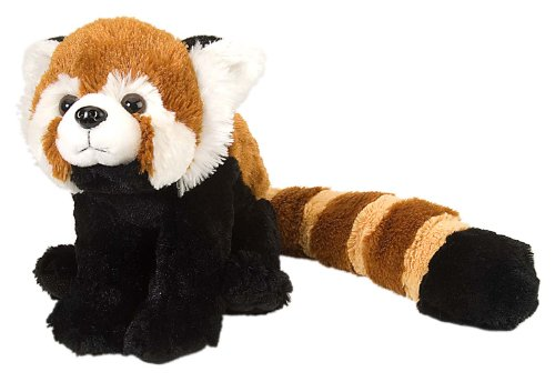 Wild Republic Red Panda Plush, Stuffed Animal, Plush Toy, Kids Gifts, Cuddlekins, 12 Inches