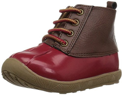 Baby Deer Kids Jude Duck Boot Rain, Red, 5 US Unisex Toddler