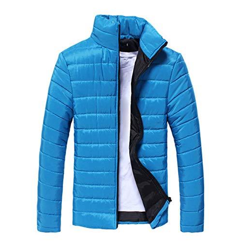 HSXQL donsjack voor heren, basic, winter, warmend, diepe kraag, ritssluiting, ultralicht