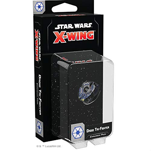 FFG Star Wars X-Wing 2nd Edition: Droid Tri-Fighter Expansion Pack