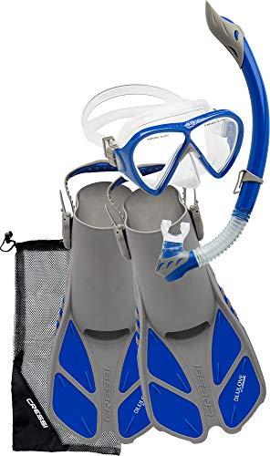 Cressi Bonete Set Grey/Blue S/M
