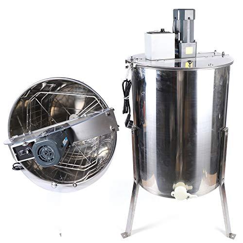 Extractor eléctrico de Miel 4-Flame Eléctrico EXTRACTOR DE MIEL MÁQUINA APICULTURA NEGOCIOS acero inoxidable